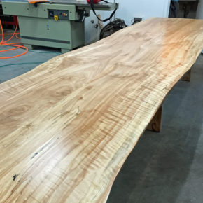 メープルの1枚テーブル